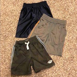 Lot of Boys Athletic shorts 4T